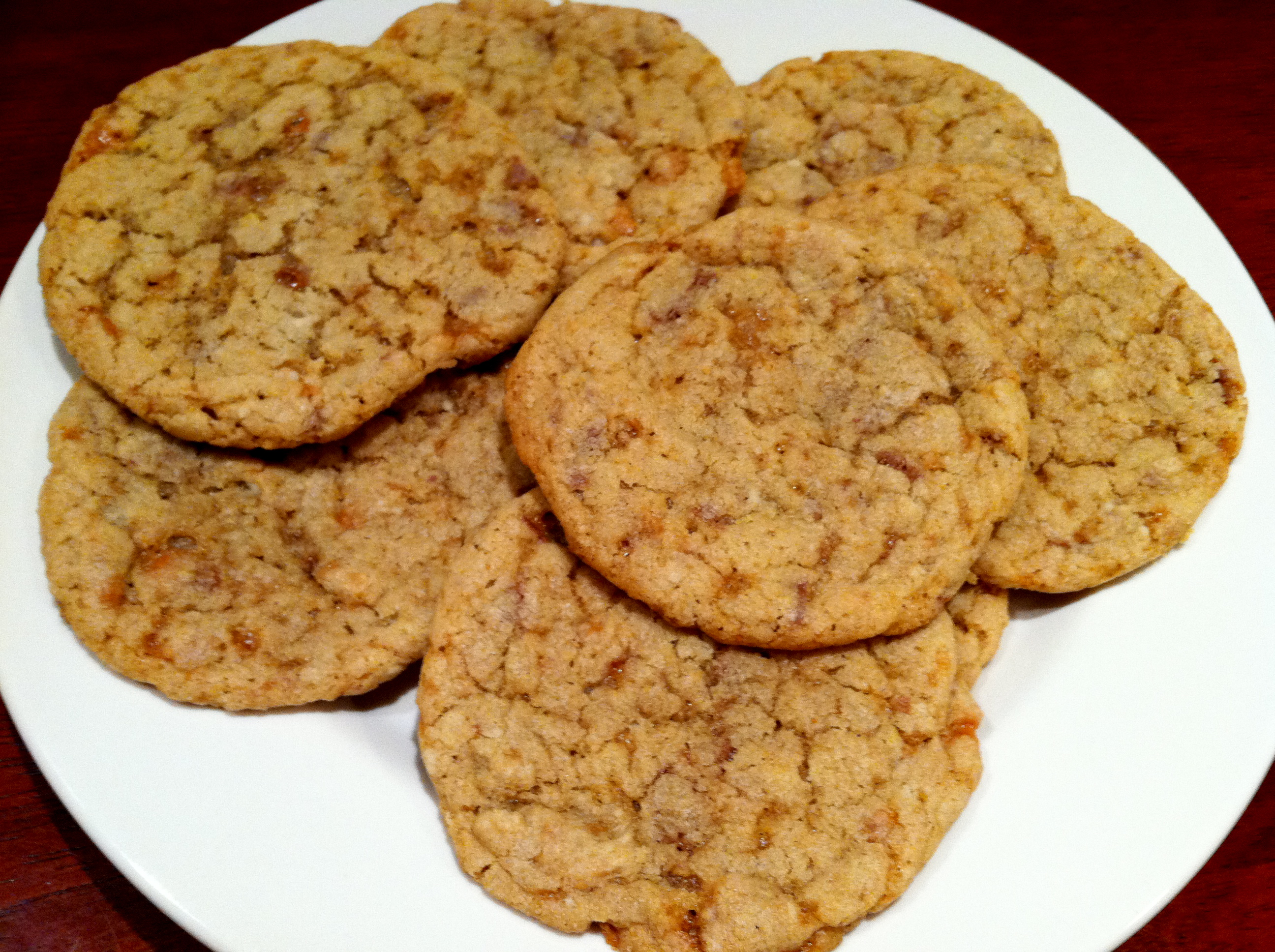 Butterfinger Cookies Recipe — Dishmaps