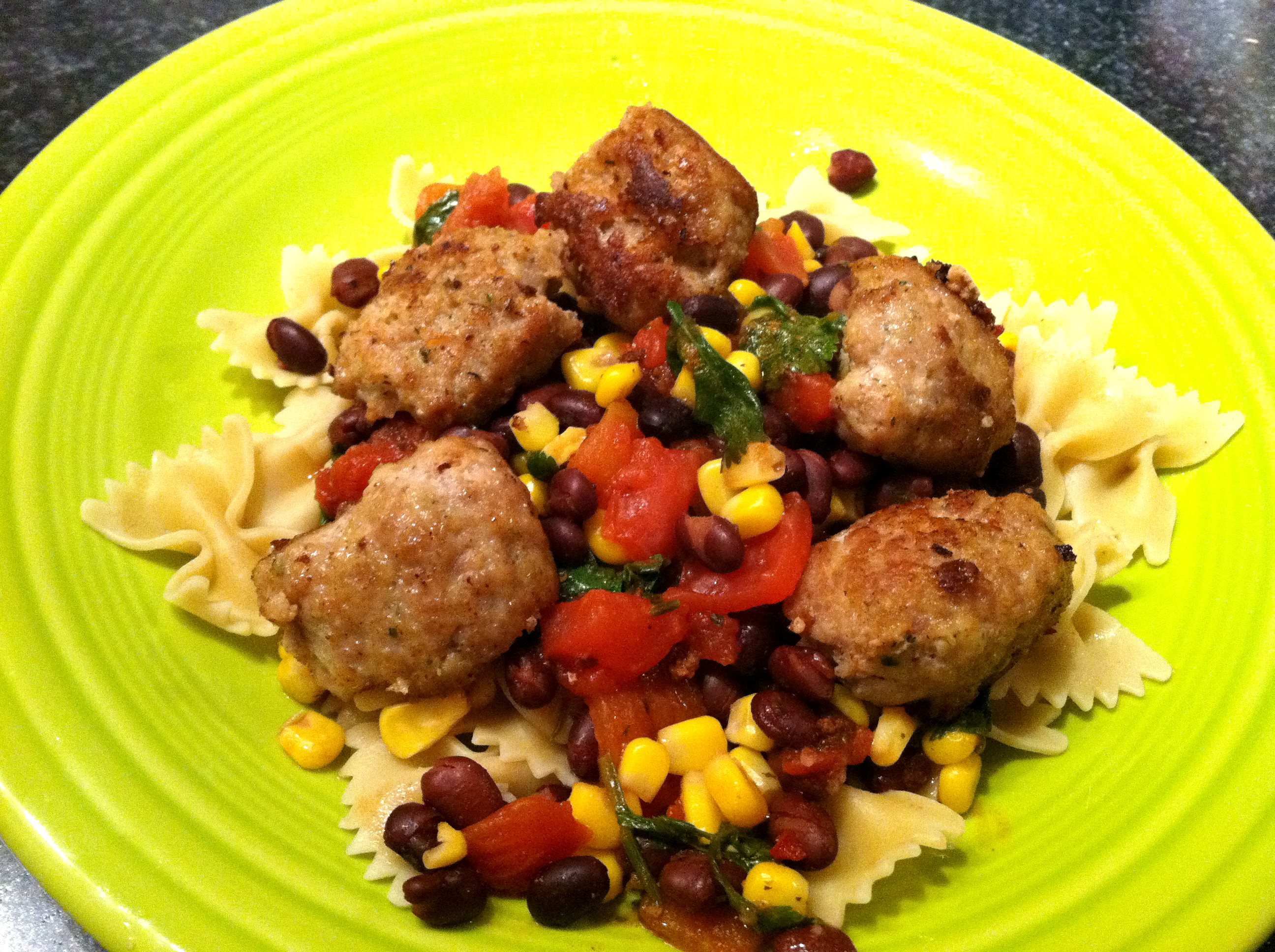 southwest meatball skillet recipe southwest meatball of southwestern ...