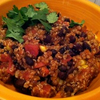 Black Bean & Quinoa Chili + Spoiled Boyd