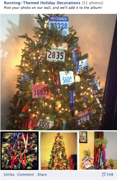 runners world christmas trees
