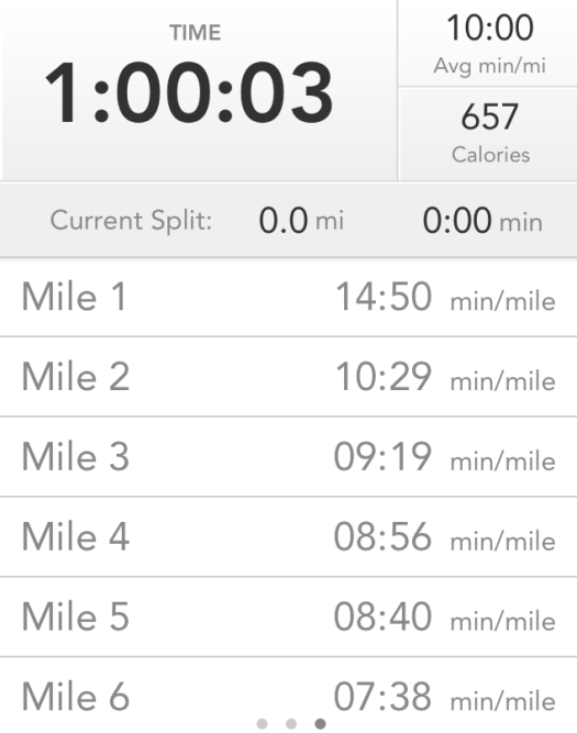 massive negative splits running