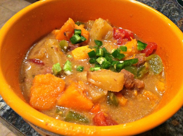 south american slow cooker stew
