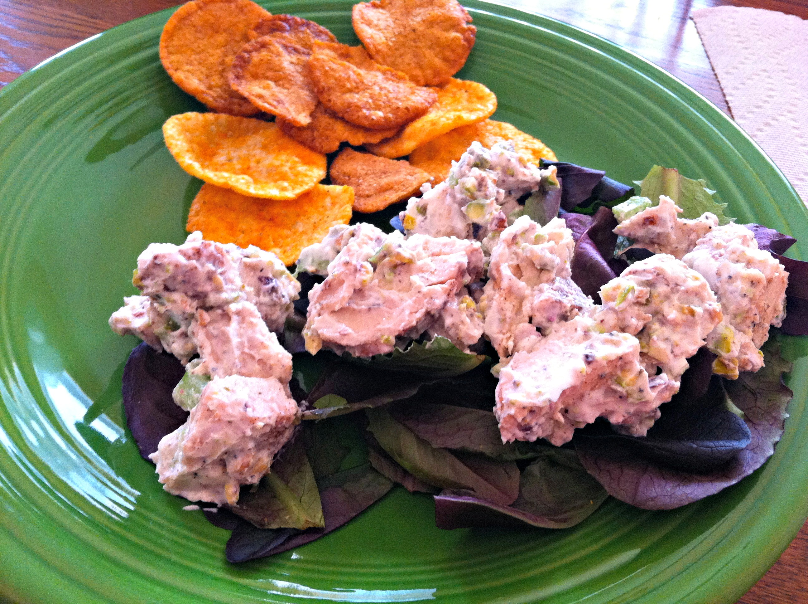 nutty tuna salad s chicken pistachio salad with chicken feta and ...