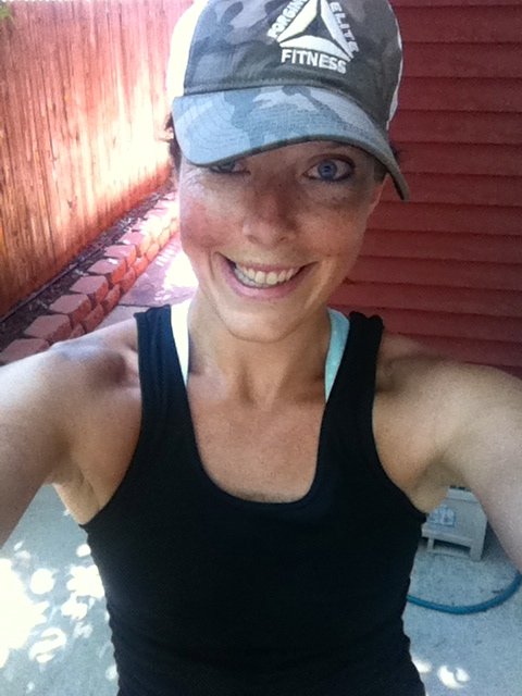 running crossfit hat camouflage