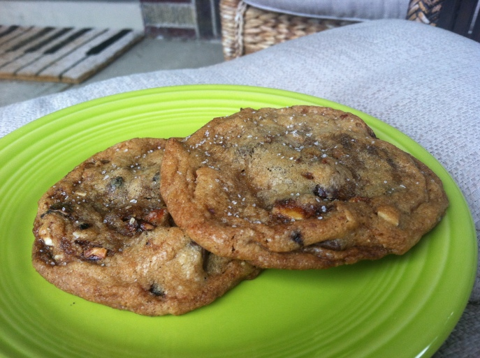 cookie friday cookies almond chocolate chunk