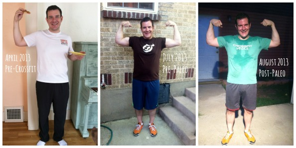 Our CrossFit & Paleo Progress Pics