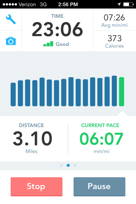 5k run runkeeper