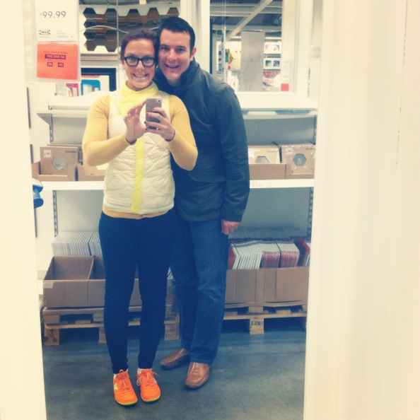 Friday Night Ikea Date + Anthro Coat Love