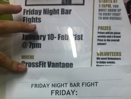 friday night bar fights