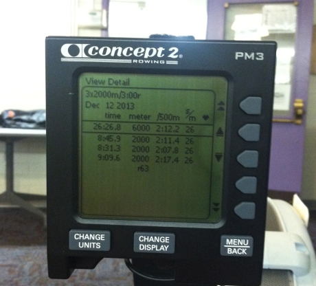 rowing results