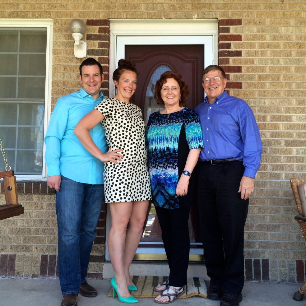 with the in-laws easter 2014