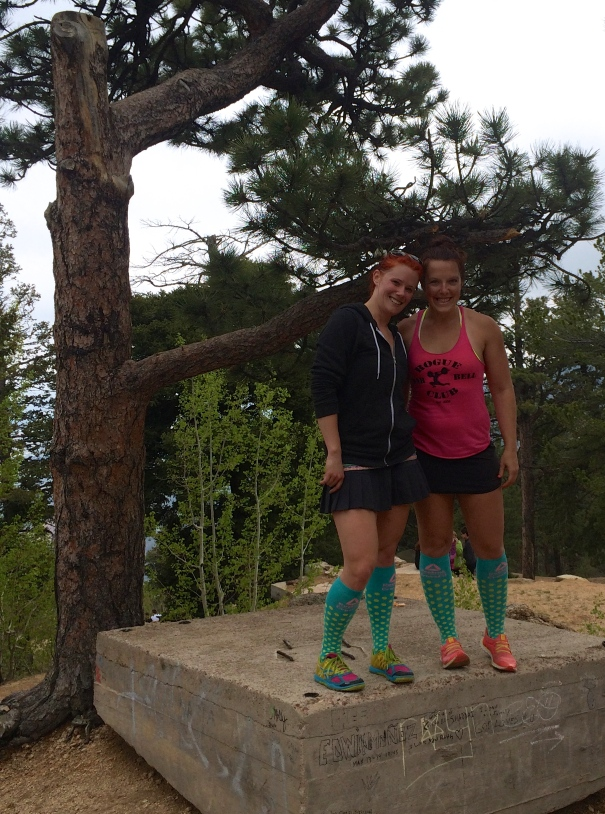 top of the manitou incline