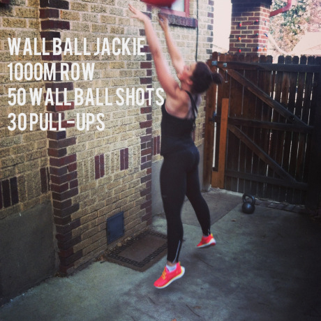 wall ball jackie wod