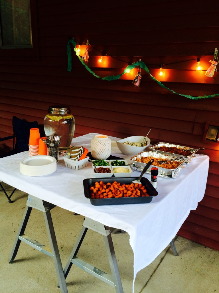 backyard paleo party birthday