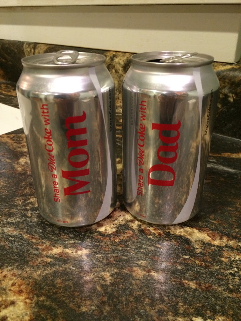 diet coke mom and dad