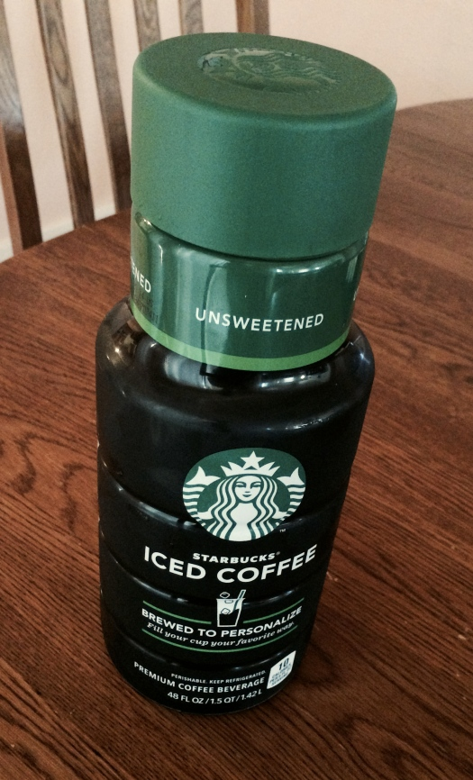 starbucks unsweetened large container safeway