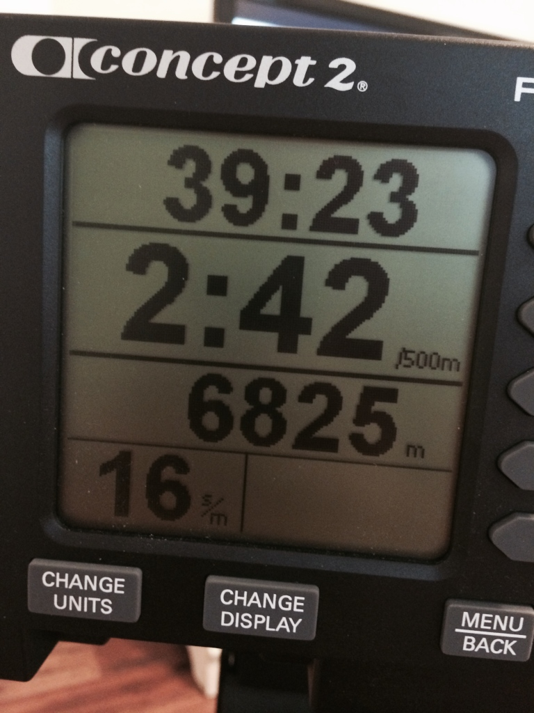 concept 2 rowing challenge