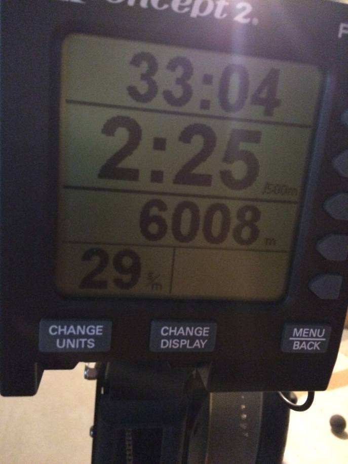 rowing concept 2 results