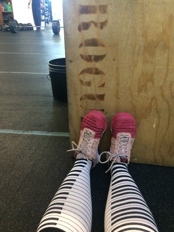 my feets at crossfit